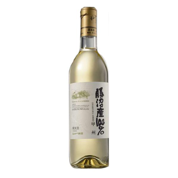 勝沼産100%  白  2018 【日本ワイン・圃】