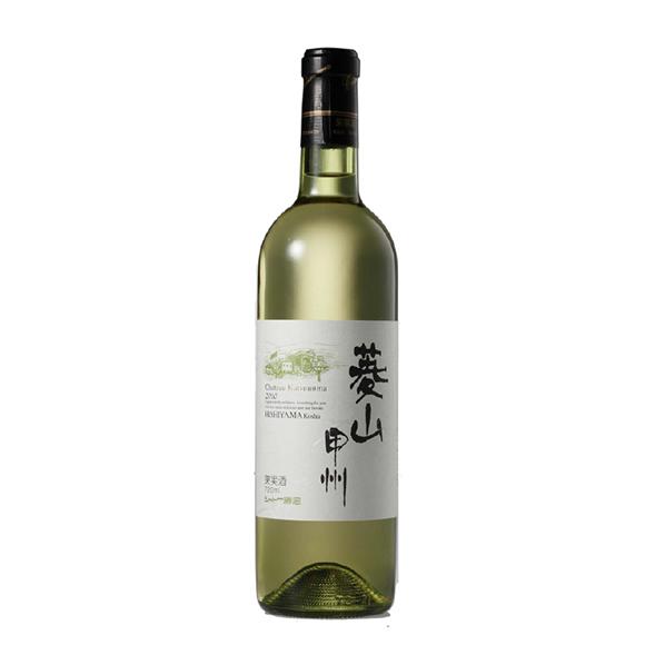 菱山甲州 2018【日本ワイン・圃】